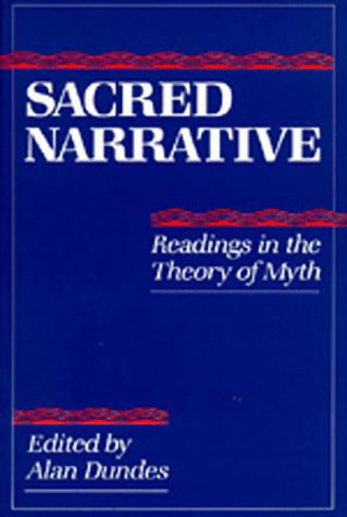 Sacred Narrative Readings in the Theory of Myth  1984 edition cover
