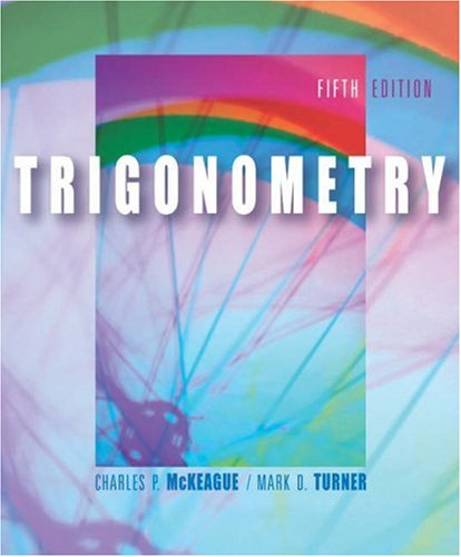 Trigonometry  5th 2004 (Revised) 9780534403928 Front Cover