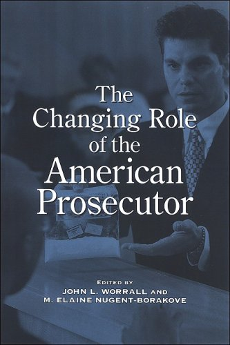 Changing Role of the American Prosecutor   2008 edition cover