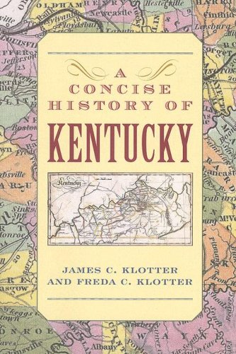 Concise History of Kentucky   2008 edition cover