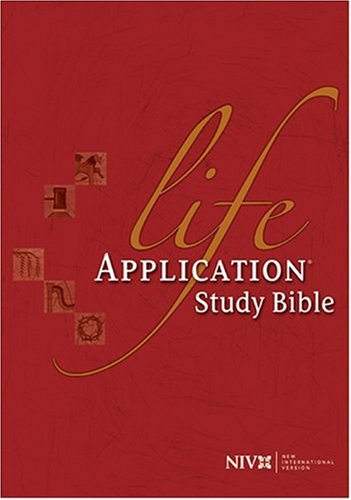 Life Application Study Bible   1997 edition cover