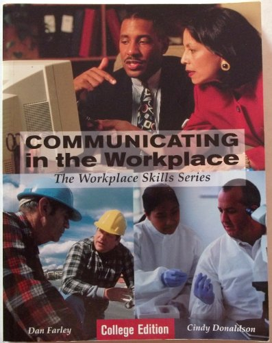 COMMUNICATION IN WORKPLACE N/A 9780966086928 Front Cover