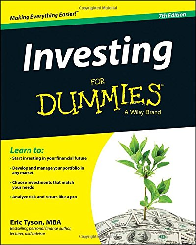 Investing for Dummies�  7th 2014 9781118884928 Front Cover
