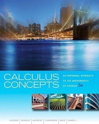 CALCULUS CONCEPTS >CUSTOM<     N/A 9781133436928 Front Cover