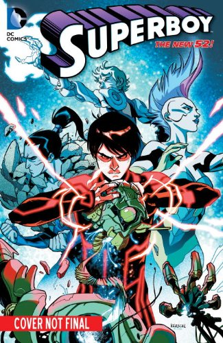 Superboy Vol. 5: Paradox (the New 52)   2015 9781401250928 Front Cover