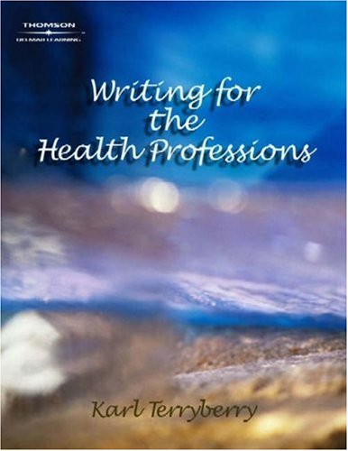Writing for the Health Professions   2005 edition cover