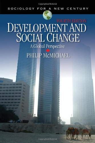 Development and Social Change A Global Perspective 4th 2008 edition cover