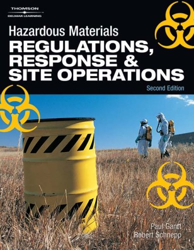 Hazardous Materials Regulations, Response and Site Operations 2nd 2009 (Revised) edition cover