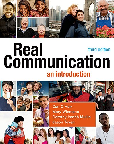 Real Communication: An Introduction  2014 edition cover