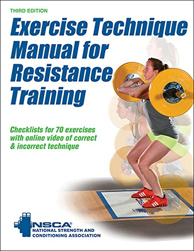 Exercise Technique Manual for Resistance Training  3rd 2016 9781492506928 Front Cover
