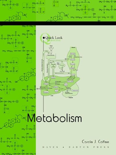 Quick Look : Metabolism  1999 (Reissue) edition cover