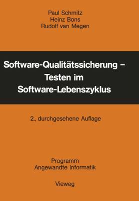 Software-Qualitätssicherung - Testen Im Software-Lebenszyklus:   1983 edition cover