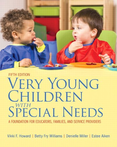Very Young Children with Special Needs  5th 2014 edition cover