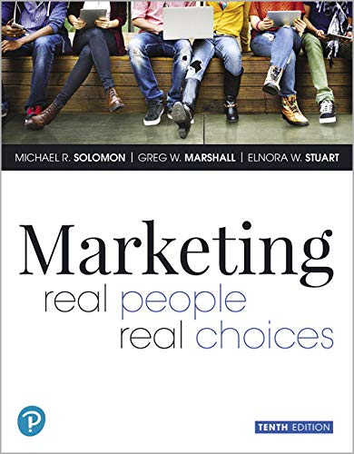 MARKETING:REAL PEOPLE...MYMARKETINGLAB  N/A 9780135209929 Front Cover
