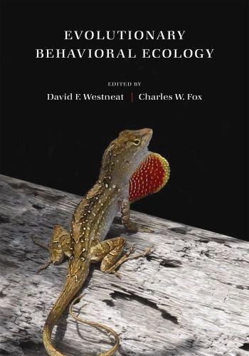 Evolutionary Behavioral Ecology   2010 edition cover