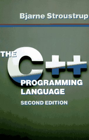 C++ Programming Language  2nd 1991 edition cover