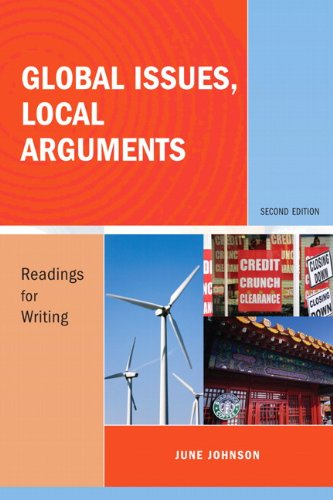 Global Issues, Local Arguments Readings for Writing 2nd 2010 edition cover