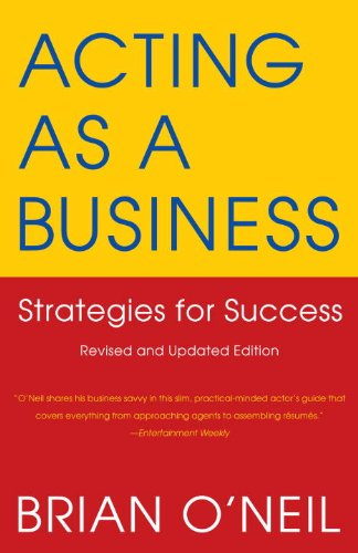 Acting As a Business Strategies for Success 4th 2009 edition cover