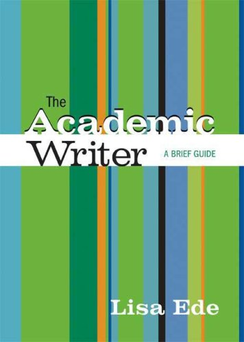 Academic Writer A Brief Guide N/A edition cover