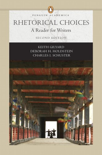 Rhetorical Choices A Reader for Writers 2nd 2007 edition cover
