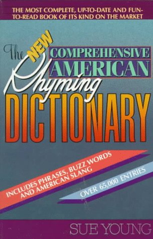 New Comprehensive American Rhyming Dictionary   1991 edition cover