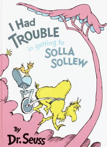 I Had Trouble in Getting to Solla Sollew  50th 1993 edition cover