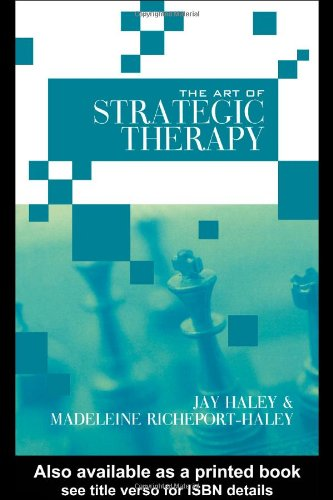 Art of Strategic Therapy   2004 edition cover