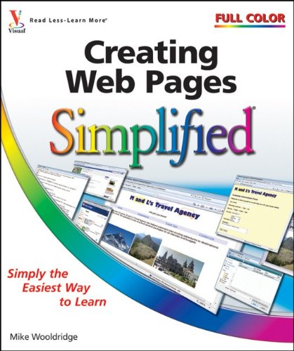 Creating Web Pages Simplified  2nd 2008 9780470481929 Front Cover