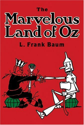 Marvelous Land of Oz  N/A edition cover