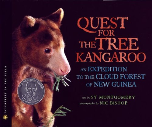 Quest for the Tree Kangaroo An Expedition to the Cloud Forest of New Guinea  2011 edition cover