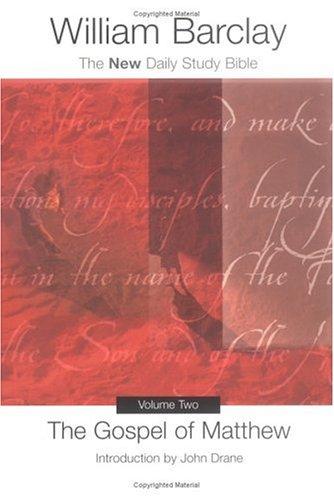 Gospel of Matthew   2001 edition cover
