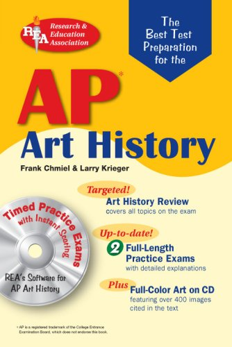 Best Test Preparation for the AP Art History  N/A 9780738602929 Front Cover