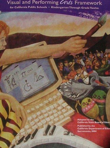VISUAL+PERFORMING ARTS FRAMEWO  2004 edition cover