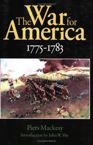 War for America, 1775-1783   1992 edition cover