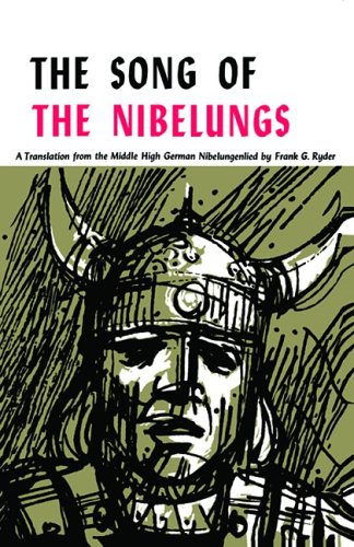 Song of the Nibelungs A Verse Translation from the Middle High German Nibelungenlied  1962 edition cover