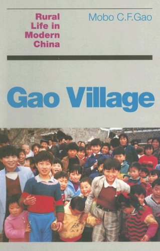 Gao Village Rural Life in Modern China  2007 edition cover