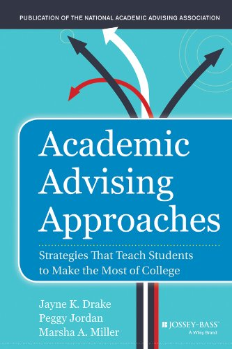 Academic Advising Approaches Strategies That Teach Students to Make the Most of College  2013 edition cover