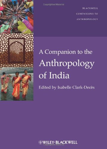 Companion to the Anthropology of India   2011 9781405198929 Front Cover