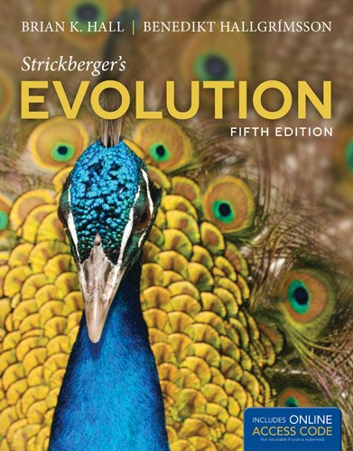 Strickberger's Evolution  5th 2014 edition cover