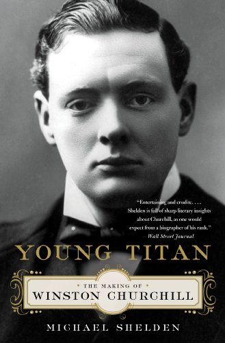 Young Titan The Making of Winston Churchill N/A edition cover