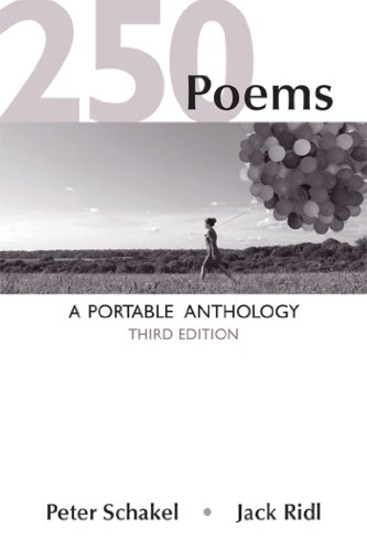 250 Poems A Portable Anthology 3rd 2014 edition cover