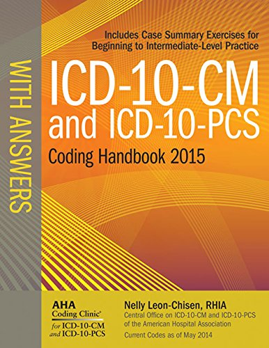 ICD-10-CM 2015 and Icd-10-pcs 2015 Coding Handbook With Answers:   2014 edition cover