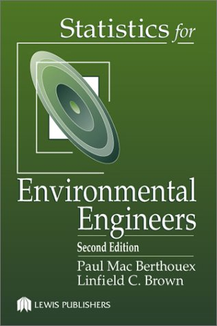 Statistics for Environmental Engineers  2nd 2002 (Revised) edition cover