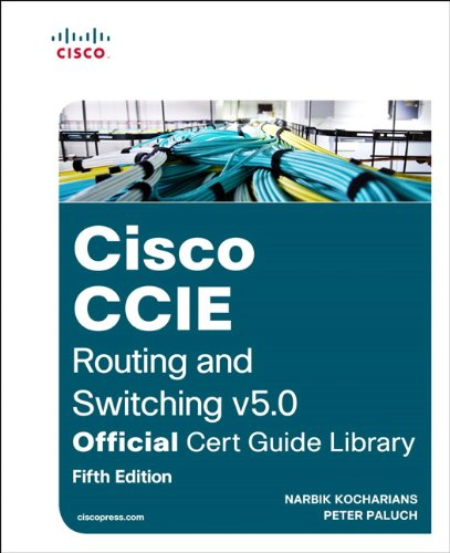 CCIE Routing and Switching V5. 0 Official Cert Guide Library  5th 2015 edition cover