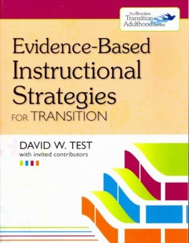 Evidence-Based Instructional Strategies for Transition   2011 edition cover