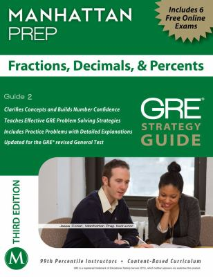 Fractions, Decimals, and Percents  3rd (Revised) 9781935707929 Front Cover