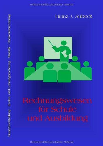 Rechnungswesen f�r Schule und Ausbildung   2009 9783837047929 Front Cover