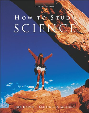 How to Study Science  4th 2003 (Revised) edition cover