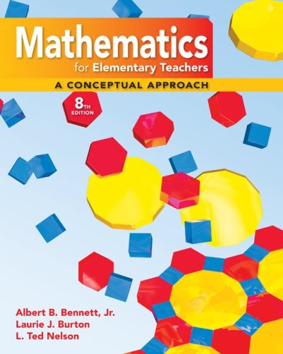 Math for Elementary Teachers A Conceptual Approach 8th 2010 edition cover