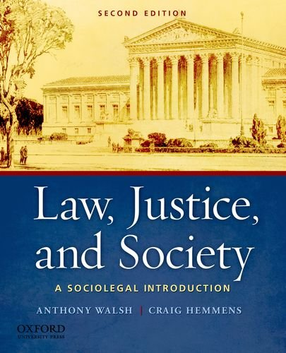 Law, Justice, and Society A Sociolegal Introduction 2nd 2011 edition cover